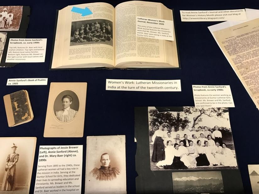 Women's History Month ArchivesExhibit